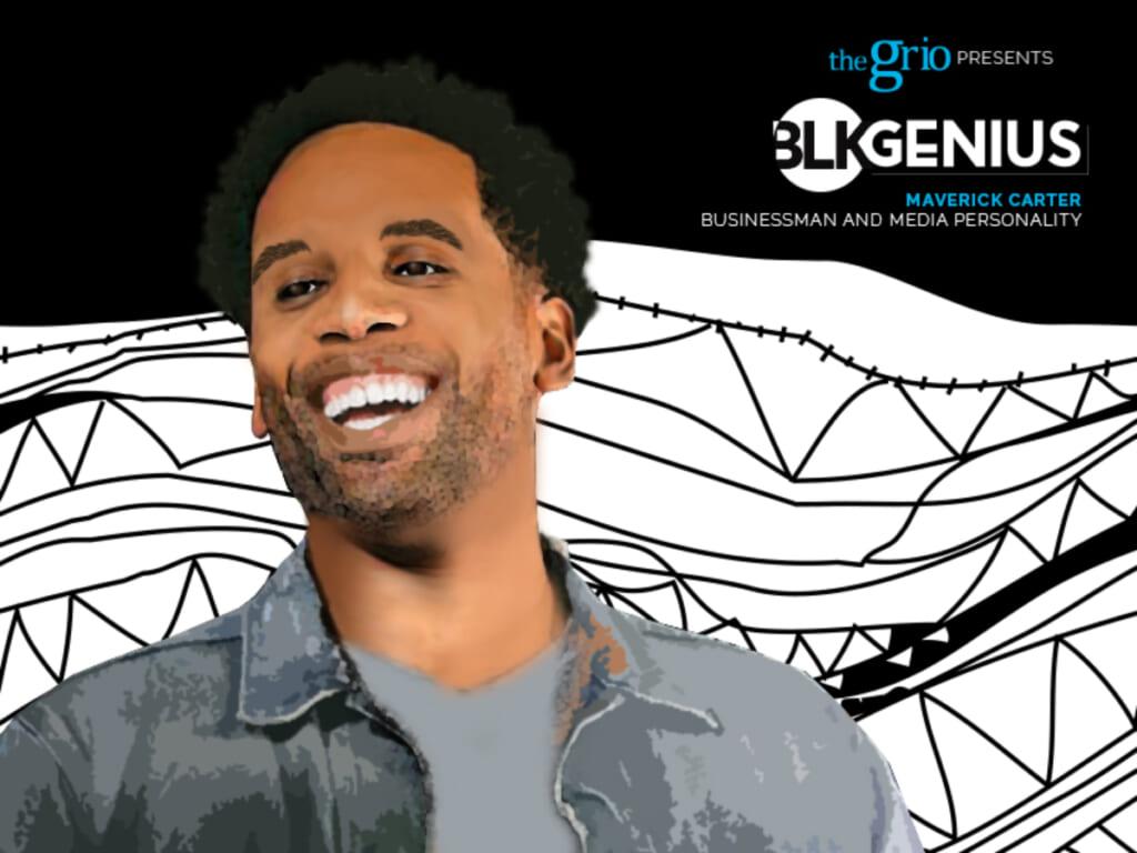 Maverick Carter BLK Genius #blkgenius