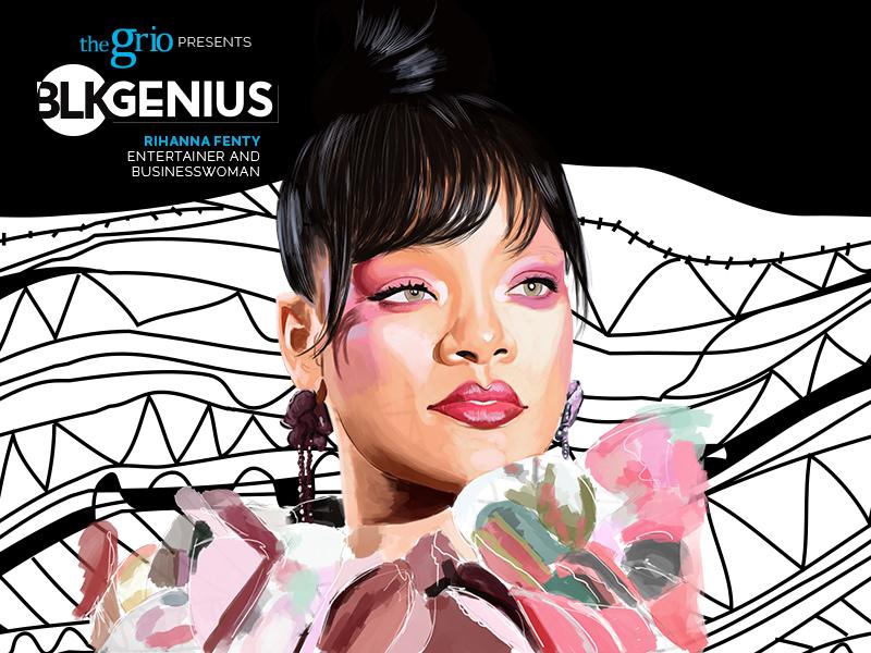Rihanna BLK Genius thegrio.com