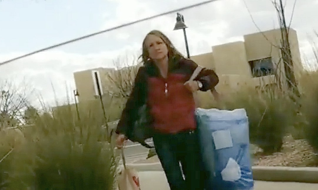 White woman goes on racist rant at motorist