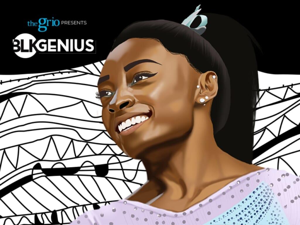 Simone Biles BLK Genius #blkgenius thegrio.com