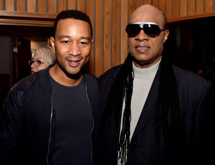 John Legend, Stevie Wonder thegrio.com