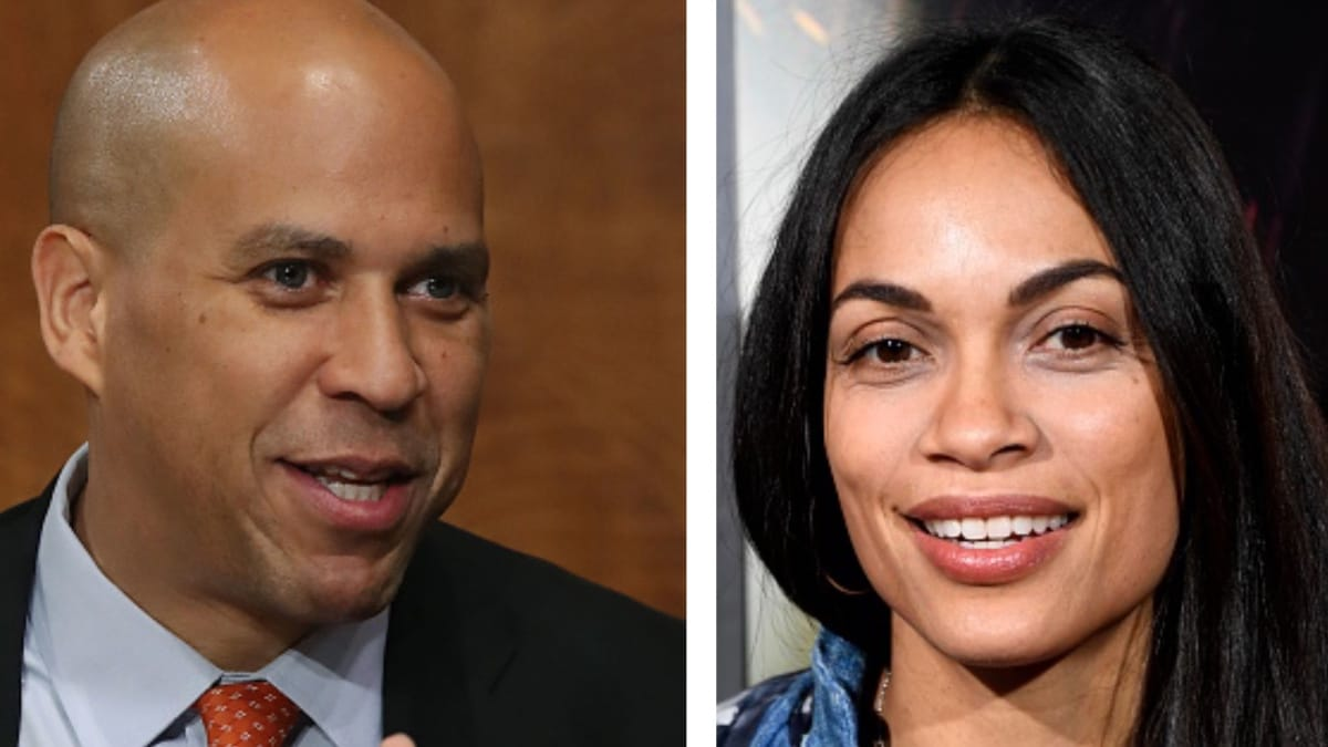 It's confirmed!: Sen. Cory Booker and Rosario Dawson are dating - theGrio