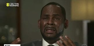 R. Kelly breaks down in CBS interview with Gayle King. (CBS News) thegrio.com