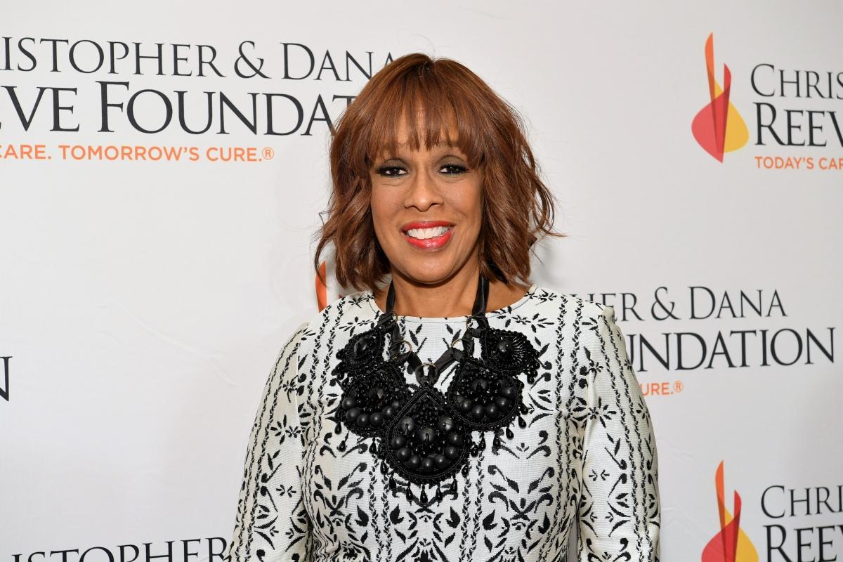 Gayle King checks royal family biographer over Megan Markle racial remark