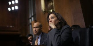 Kamala Harris & Cory Booker