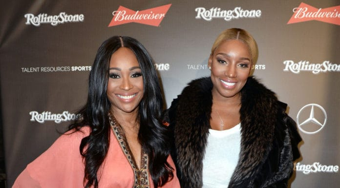 Reality TV personalities Cynthia Bailey (L) and NeNe Leakes at the Rolling Stone Live: Houston presented by Budweiser and Mercedes-Benz on February 4, 2017 in Houston, Texas. Produced in partnership with Talent Resources Sports. (Photo by Gustavo Caballero/Getty Images for Rolling Stone)