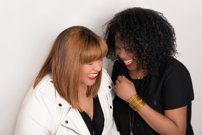 Best friends Michelle James and Danielle Brown launched the