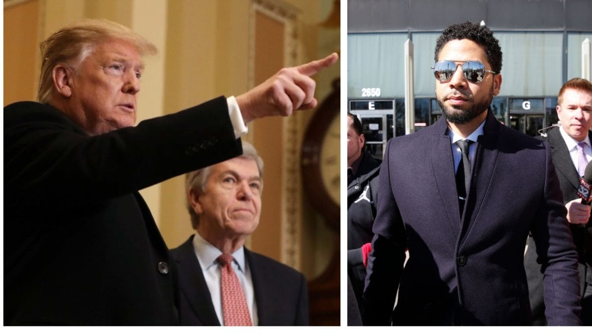 OPINION: Trump is talking tough about Jussie Smollet, but where's the smoke for the violence committed by some of his supporters?