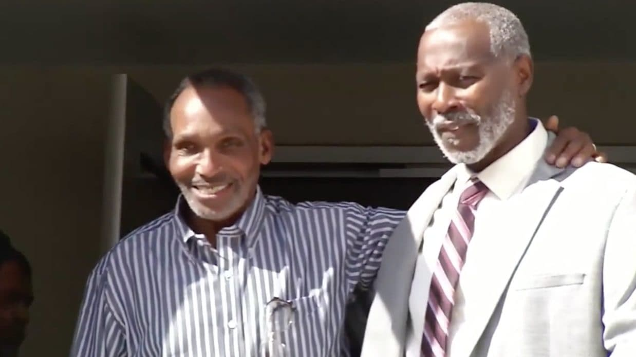 Uncle and nephew released after serving 42 years in Florida prison