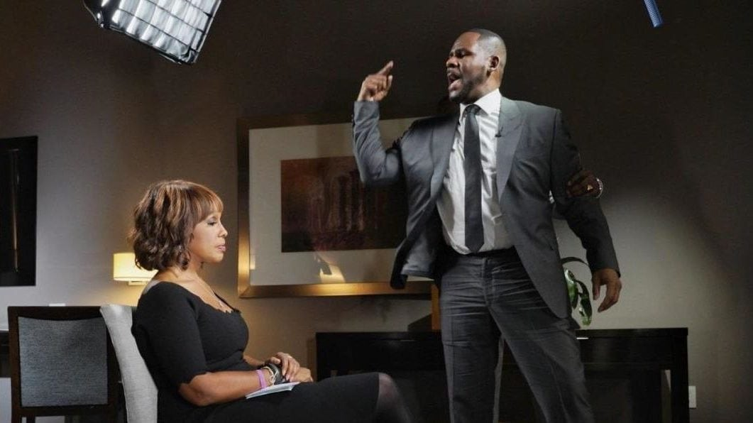 Gayle King reveals what went through her mind during R. Kelly's outburst