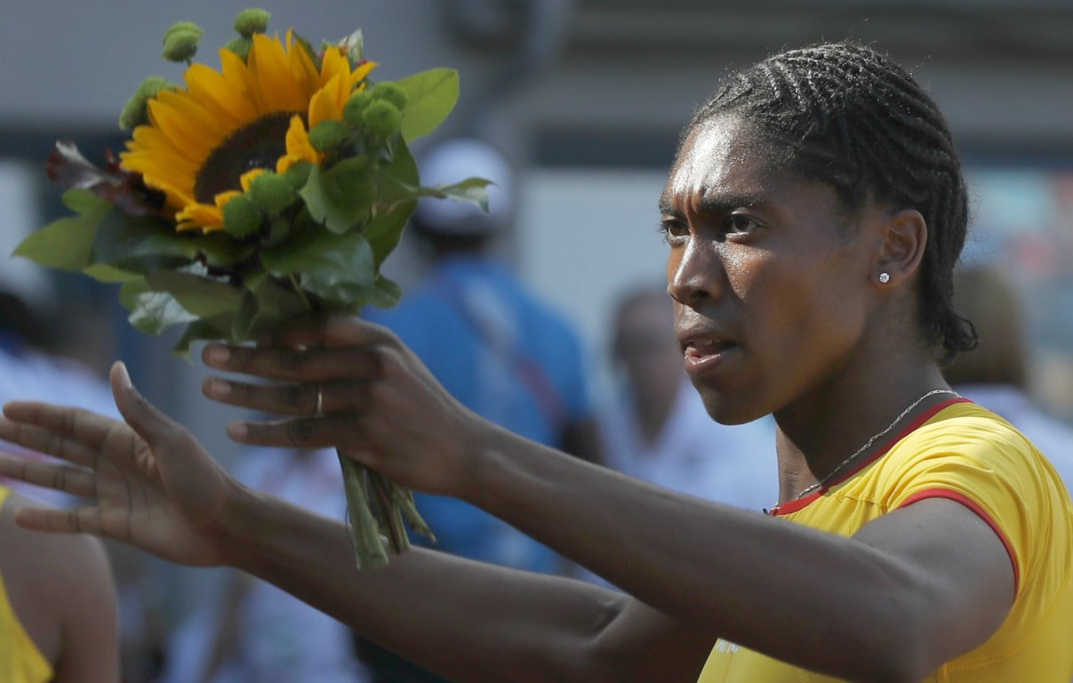 Caster Semenya says female athletes have never offered her support