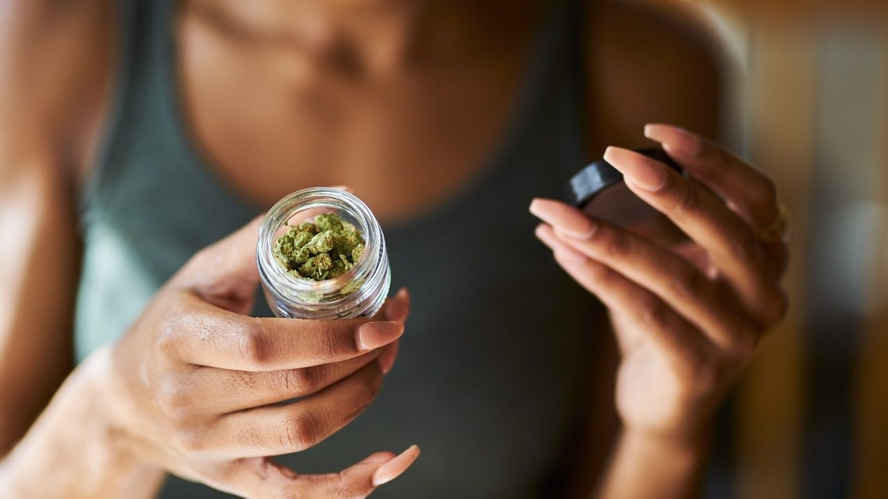 black woman cannabis marijuana thegrio.com