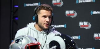 Nick Bosa attends SiriusXM at Super Bowl LIII Radio Row on February 01, 2019 in Atlanta, Georgia. (Photo by Cindy Ord/Getty Images for SiriusXM) thegrio.com