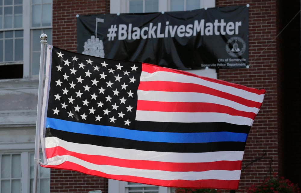 Black employee wins $100K lawsuit after being harassed for asking that 'Blue Lives Matter' flag be removed from office