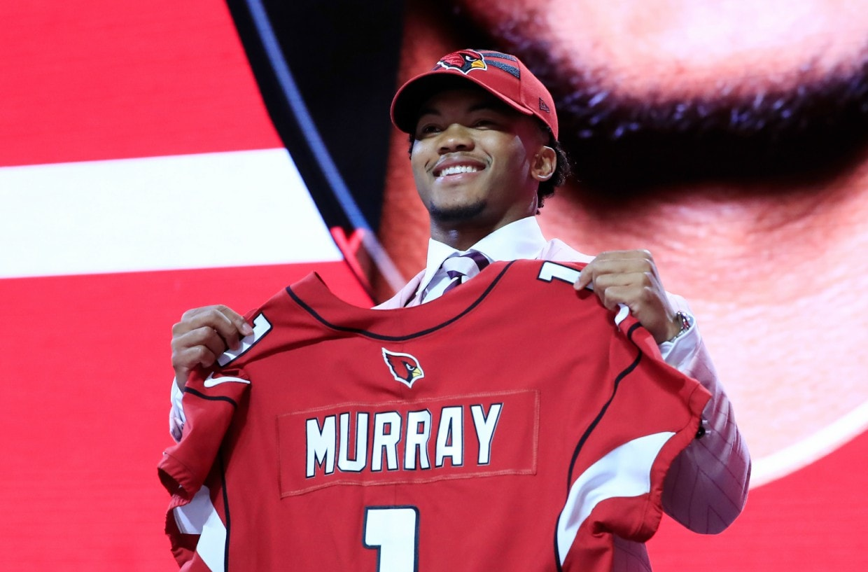 1 No Draft Kyler Pick And History - Nfl Goes Thegrio As Into Murray