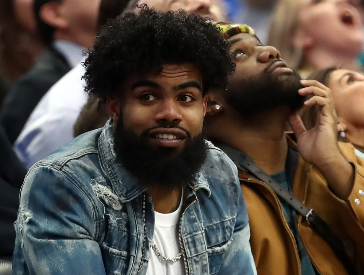 c14fe8112 Cowboys' running back Ezekiel Elliott offers to pay funeral expenses of  student athlete killed by stray bullet