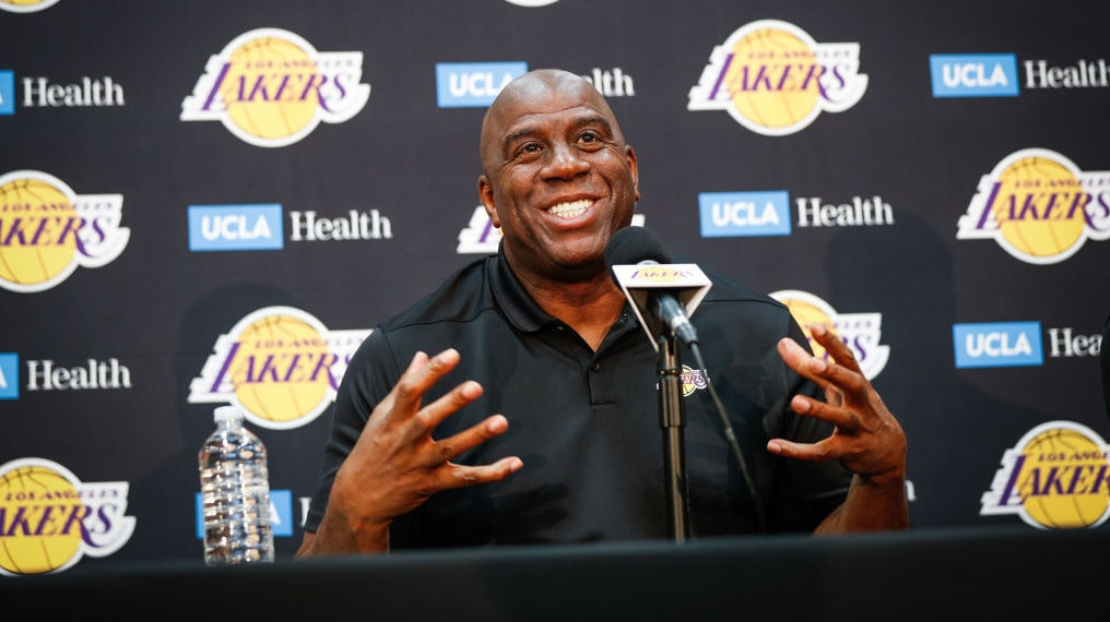 Magic Johnson doesn't hold back as he reveals why he stepped down as Lakers' president
