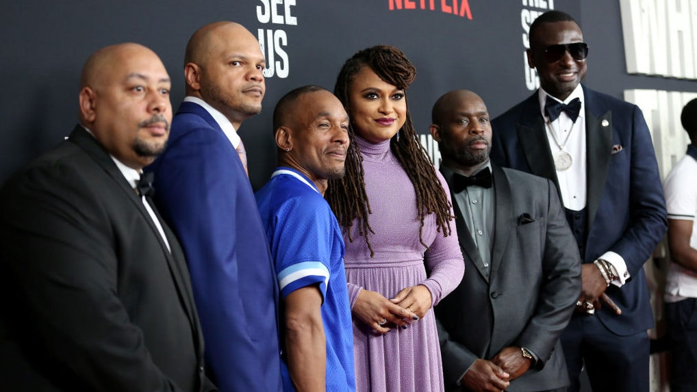 'When They See Us' actors revisit Central Park Five case ...
