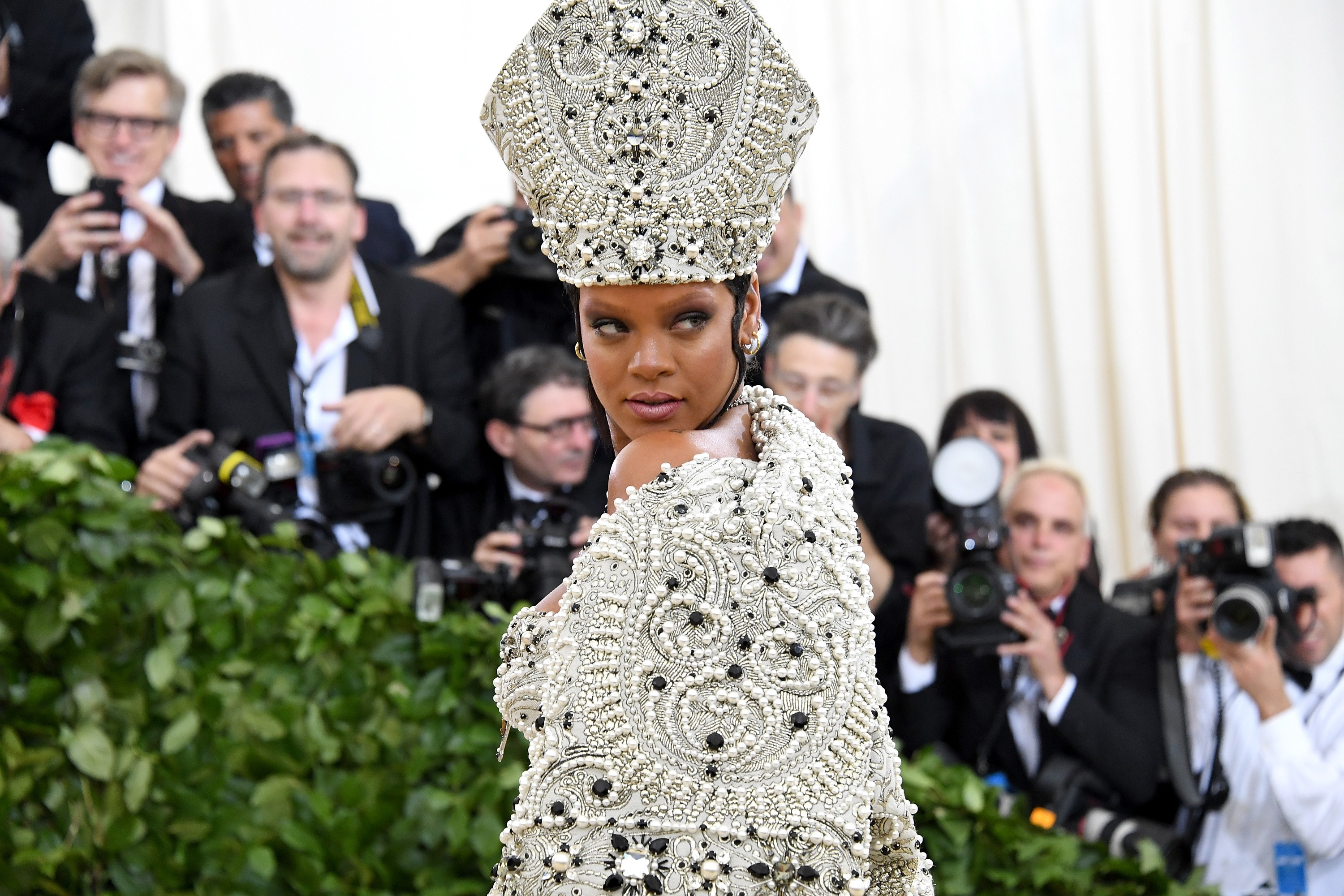 Rihanna misses the Met Gala, and fans think they know why