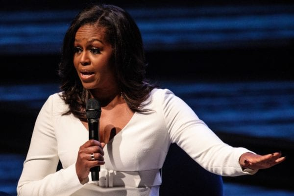 Michelle Obama snubbed on Forbes' list of the 'World's 100 Most Powerful Women'