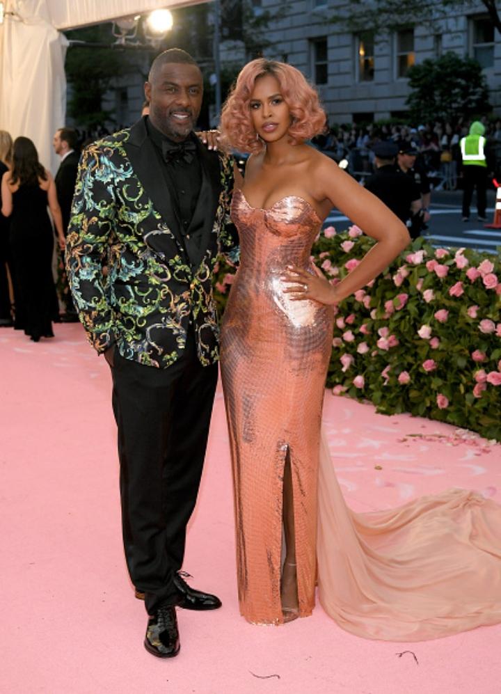 Idris Elba and Sabrina Dhowre thegrio