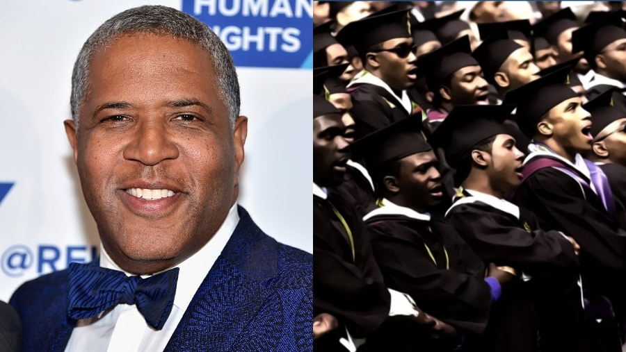 Billionaire Robert F  Smith promises to pay off student