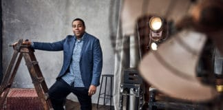 """NBCUNIVERSAL UPFRONT EVENTS -- Upfront Portrait Studio -- Pictured: Kenan Thompson """"The Kenan Show"""" -- (Photo by: Maarten de Boer/NBCUniversal/NBCU Photo Bank via Getty Images)"""