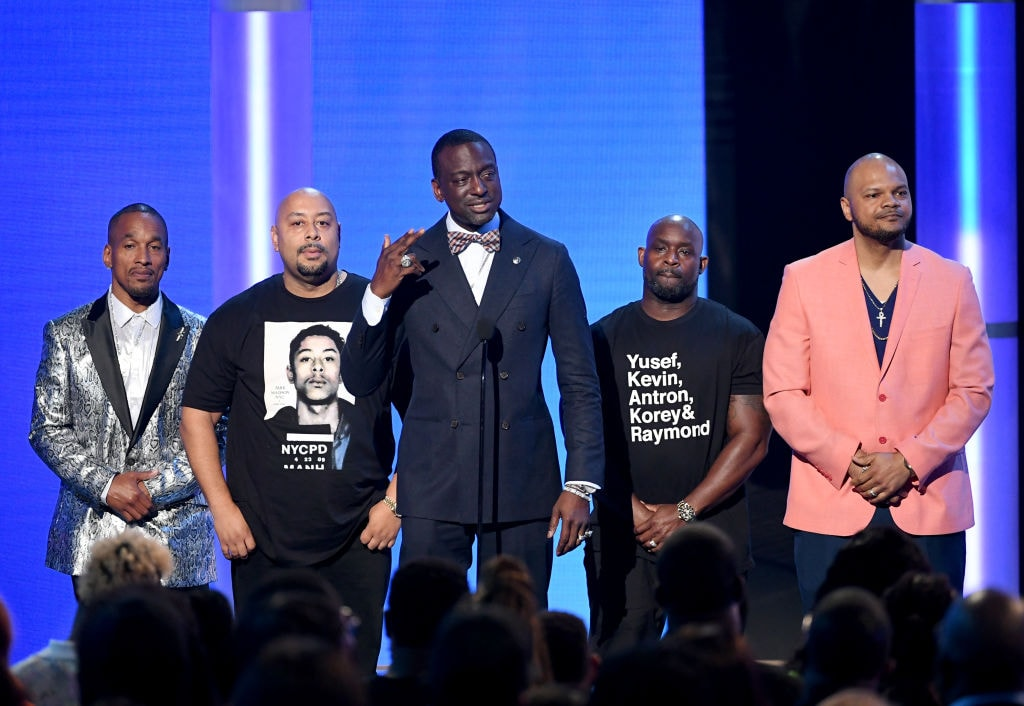 Exonerated 'Central Park Park' men receive joyful praise and standing ovation at BET Awards - TheGrio