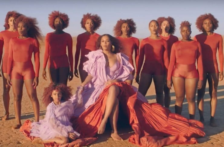 Beyonce releases new 'Spirit' video from Lion King soundtrack.