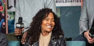 """NEW YORK, NEW YORK - FEBRUARY 07: Actress Sonja Sohn, who is one of the cast of the movie """"High Flying Bird"""" talks about the movie inside Build Studio on February 07, 2019 in New York City. (Photo by Anthony DelMundo/Getty Images)"""