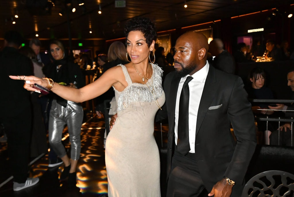 Sexy pics show Nicole Murphy kissing Lela Rechon's husband and 'Training Day' director Antoine Fuqua in Italy