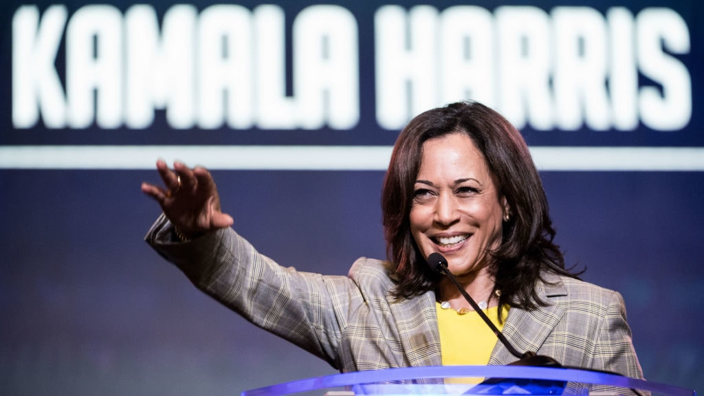 Democratic candidate Kamala Harris once dated this TV show host