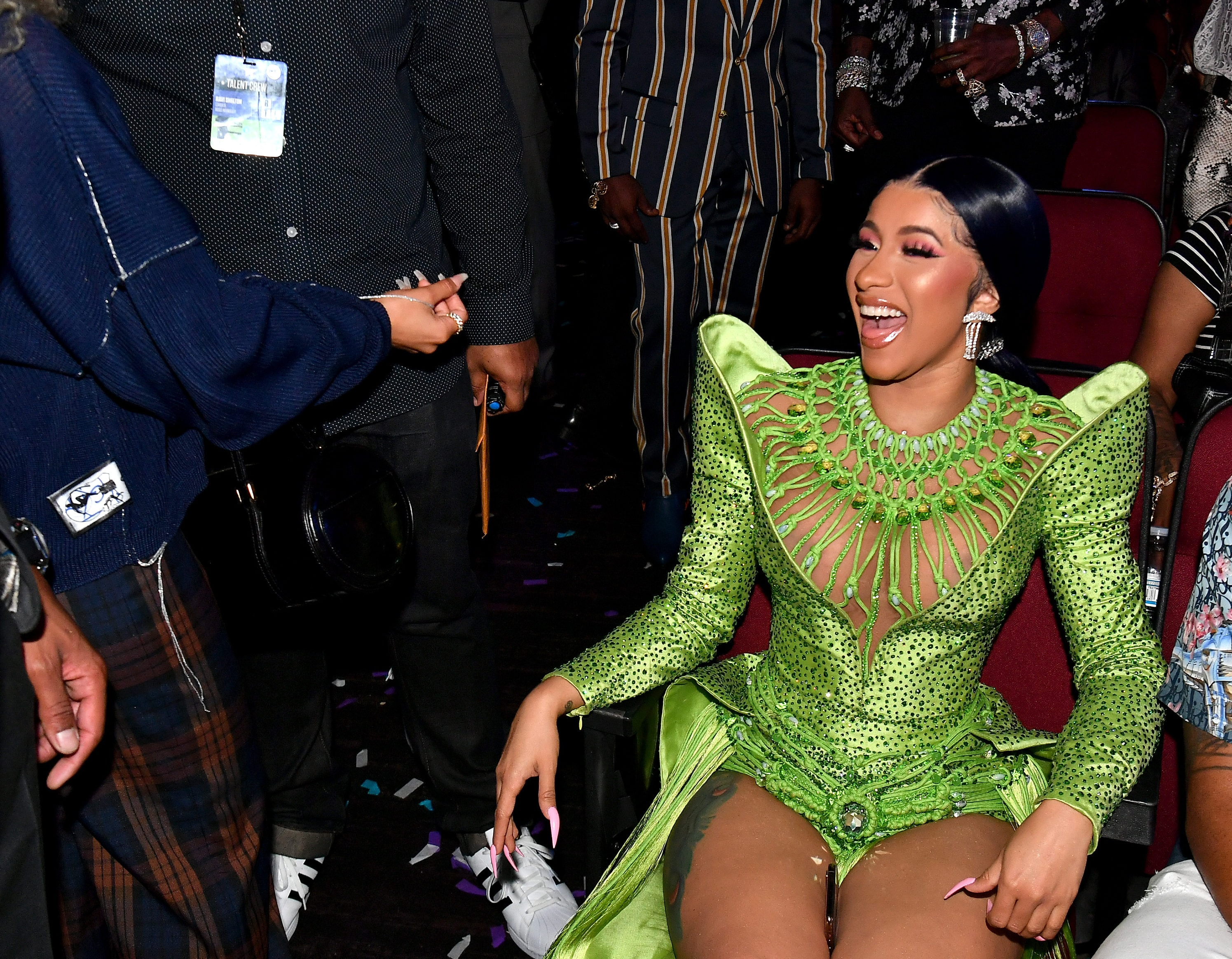 This Cardi B Fan Got A Tattoo Dedicated To The Bodak: Cardi B Begs Fans For Return Of Her Wig After Hurling It