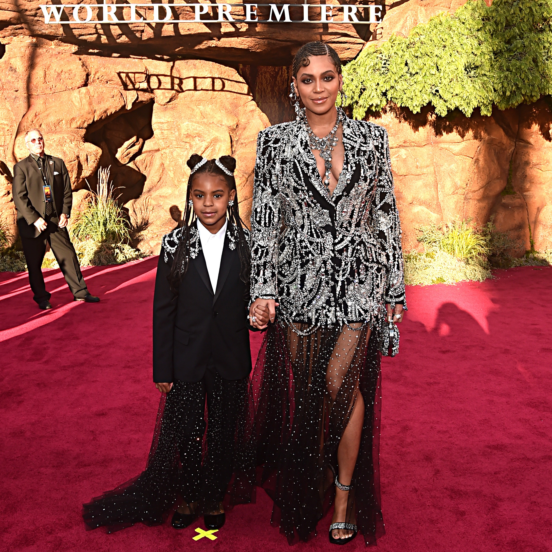 Black Hollywood makes a big, bold statement at the world premiere of 'The Lion King'