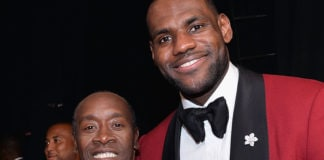 Don Cheadle/ LeBron James