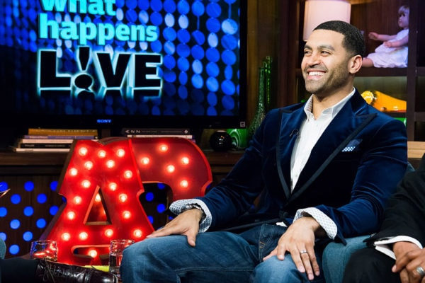 Apollo Nida appears on Watch What Happens Live. (Charles Sykes/Bravo/NBCU Photo Bank via Getty Images)