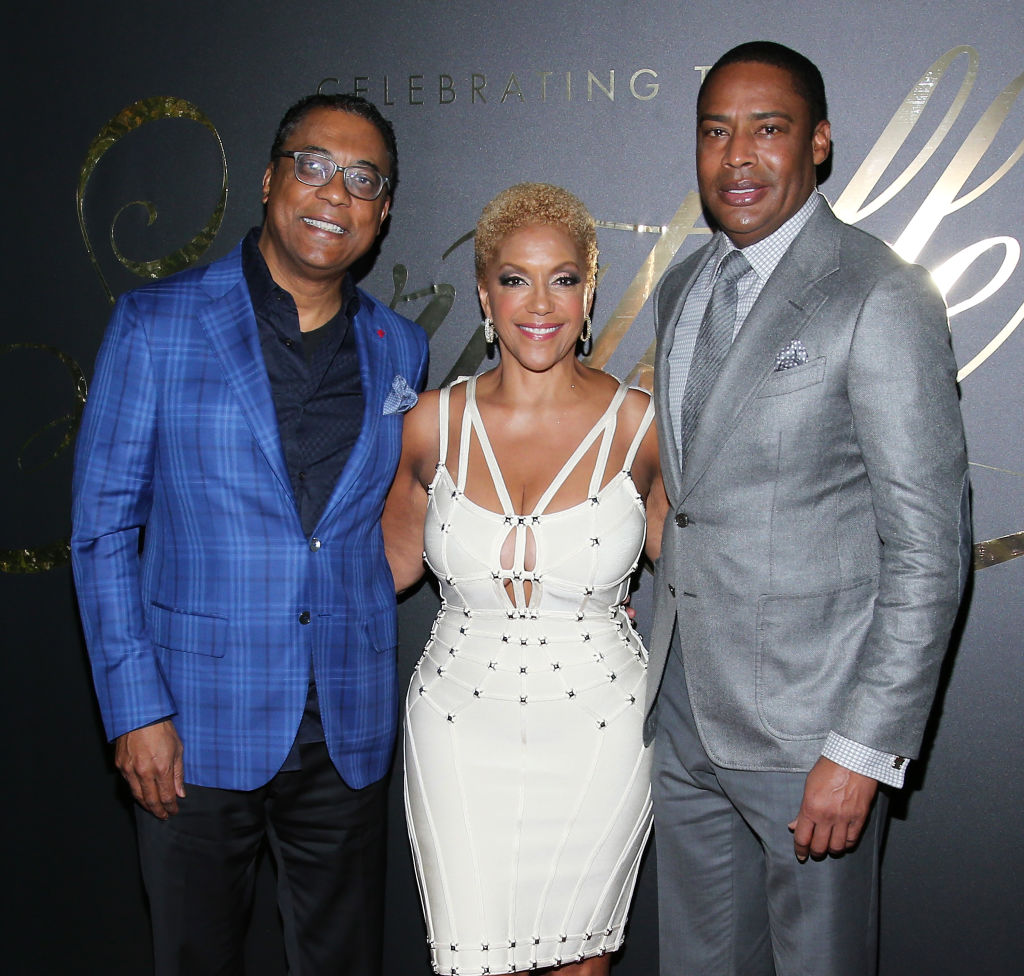 Chairman of Ebony Media Michael Gibson, Chairman of Ebony Media Operations Linda Johnson Rice and Co-Founder and Vice Chairman CVG and Vice-Chairman of Ebony Media Willard Jackson attend the EBONY Magazine And iTunes Movies' 2nd Annual Pre-Oscar Celebration at Delilah on February 23, 2017 in West Hollywood, California. (Photo by J. Countess/WireImage)