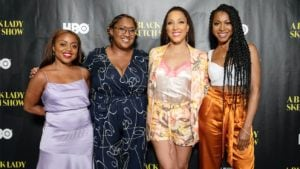 Robin Thede, Gabrielle Dennis, Ashley Nicole Black and Quinta Brunson land second season for their series, A Black Lady Sketch Show (Credit:Dorothy Hong/HBO)
