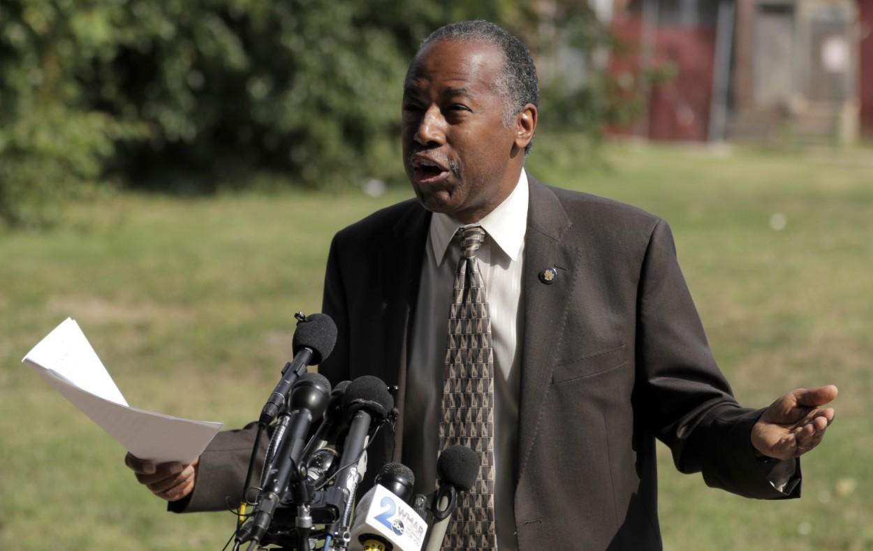 Ben Carson blasted after remarks about transgender people