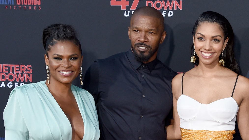 WATCH: Nia Long, Corinne Foxx, Shaun Robinson and more light up the red carpet for '47 Meters Down: Uncaged' premiere