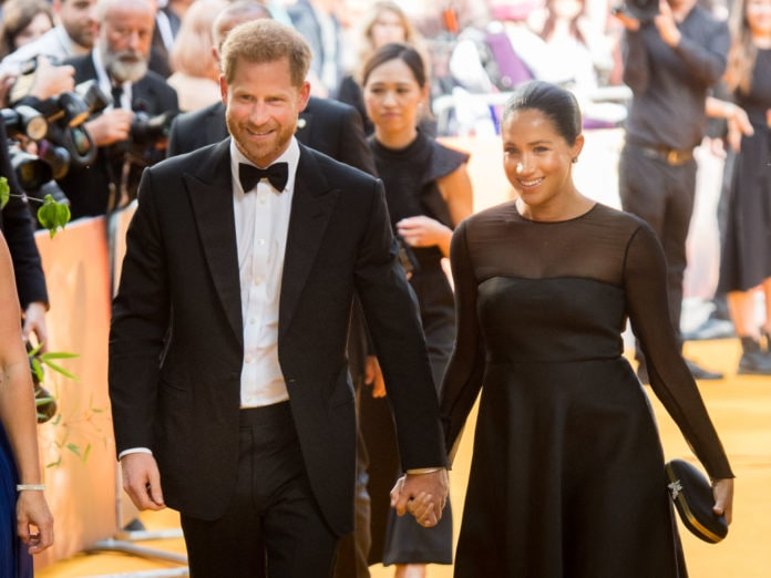 Prince Harry, Duke of Sussex and Meghan, Duchess of Sussex attend