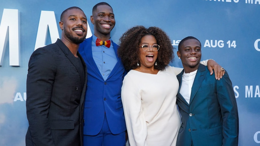 Oprah Winfrey reveals why she was moved to tears when Tarell Alvin McCraney pitched her 'David Makes Man'