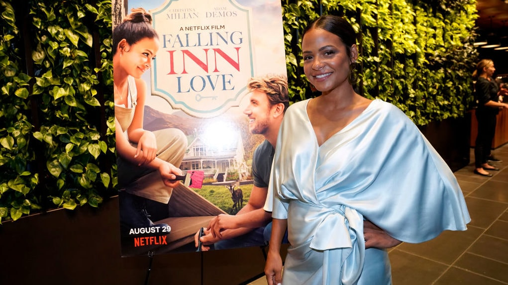 WATCH: Christina Milian on her new Netflix film 'Falling Inn