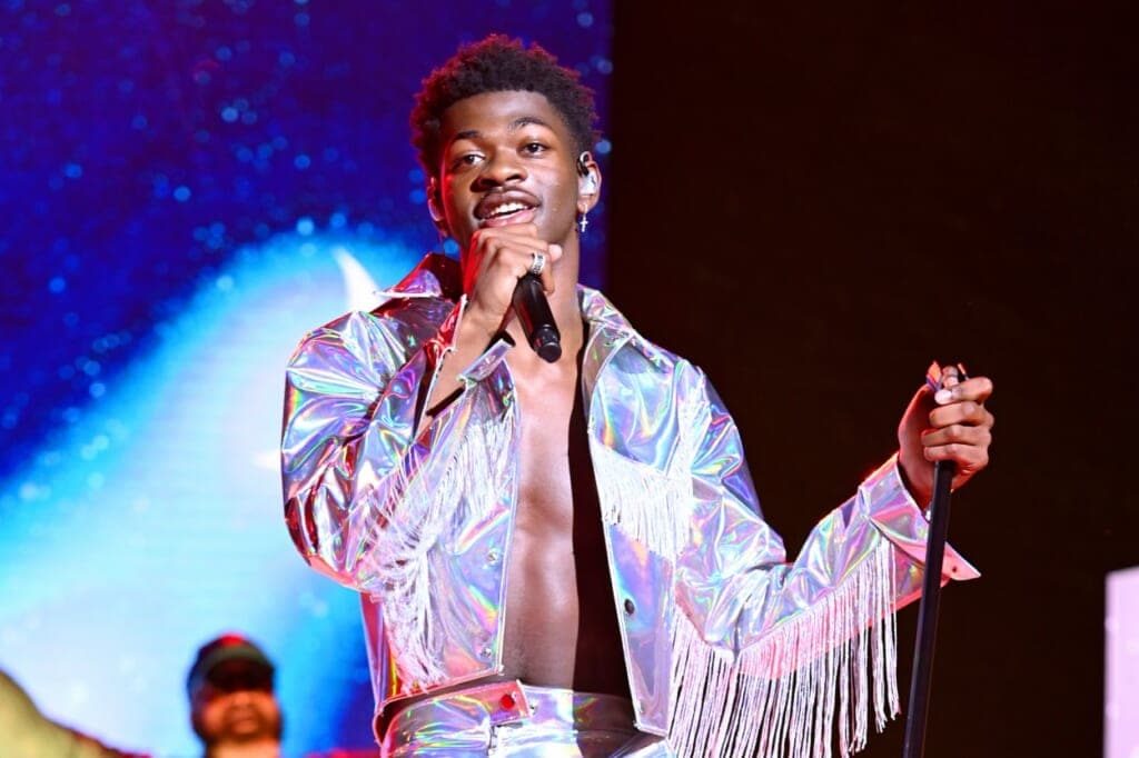 Lil Nas X performs on stage during Internet Live By BuzzFeed at Webster Hall on July 25, 2019 in New York City. (Photo by Noam Galai/Getty Images for BuzzFeed)