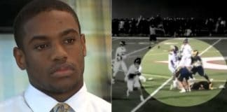 Luther Johnson V has retained legal counsel to fight for his right to play high school sports after enduring racist taunts on the lacrosse field last season. (Johnson family)