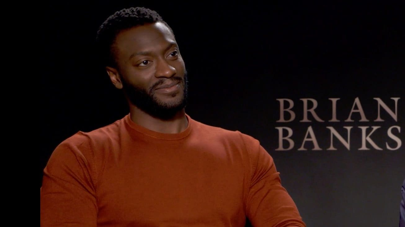 WATCH: Aldis Hodge on how he tackled his starring role in 'Brian Banks'
