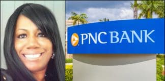 Tatiana Denson is suing a PNC Bank