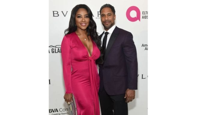 Kenya Moore and Marc Daly thegrio