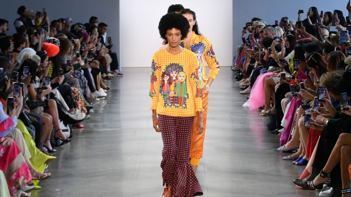 Black model says 'No' to wearing racist accessories at N.Y. Fashion Week - TheGrio