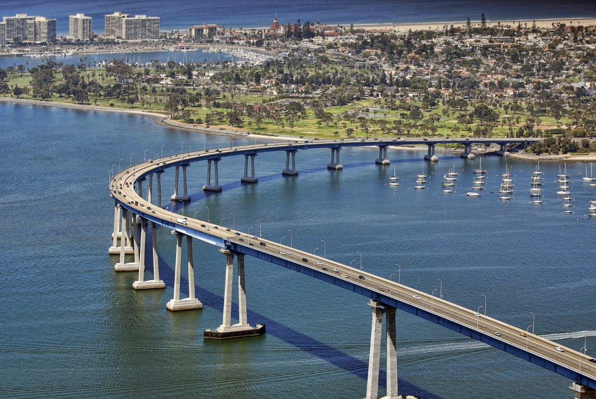The Coronado bridge thegrio.com